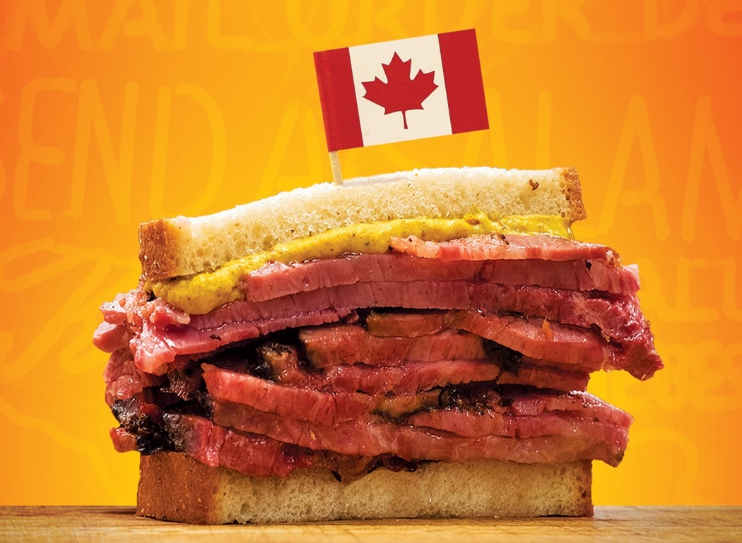 New York's Famed Katz's Deli Wants to Mail You Pastrami in Canada