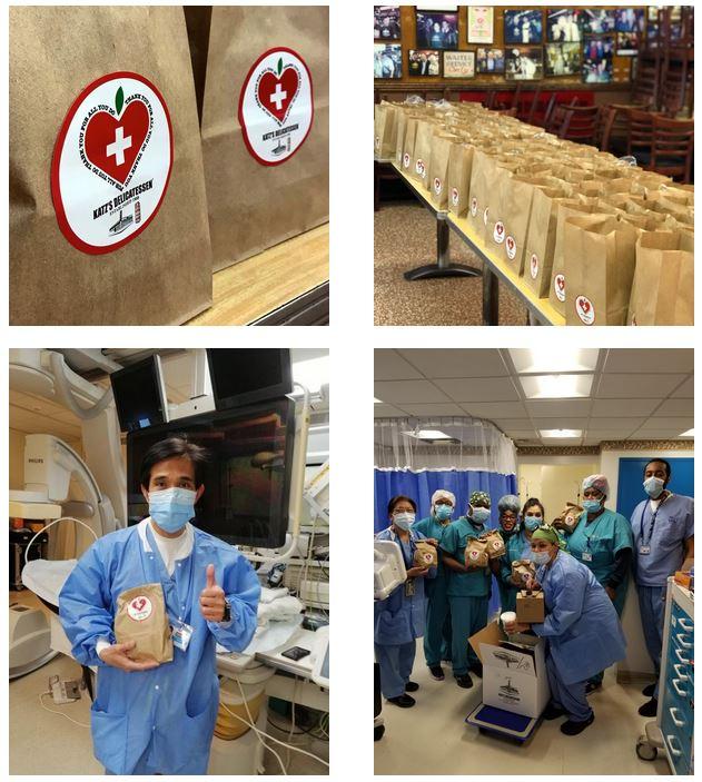 Katz's Delicatessen Sending Out Matzoh Ball Soup Amid Pandemic