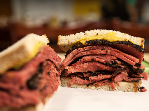 Skip the flowers and get Mom a pile of Katz's pastrami for Mother's Day