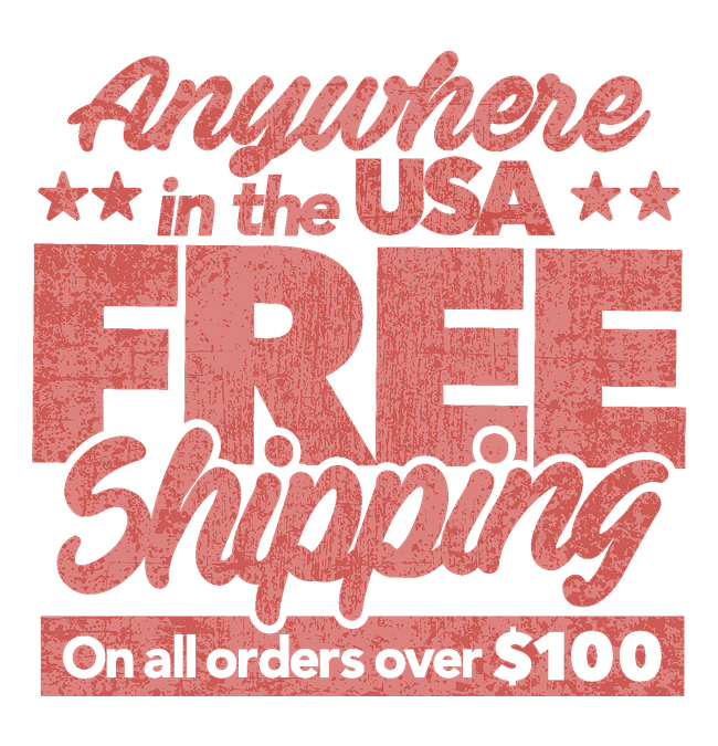 2Day Shipping - Free with Orders Over $100